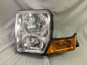 2006 2007 2008 2009 2010 Jeep Commander Lh Left Headlight Oem 55396537