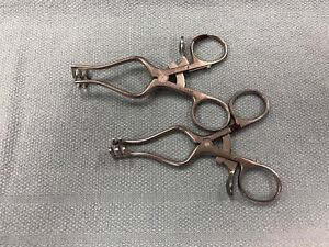 Aesculap Bv73r Weitlaner Retractor Lot Of 2