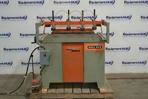 Holzher 1626 Super bore Horizontal Vertical 32mm Line Boring Machine