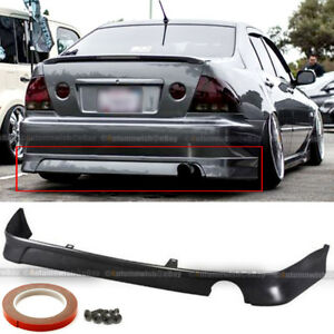 Fit 01 05 Is300 Xe10 Tr d Style Pu Urethane Rear Lower Bumper Chin Lip Body Kit