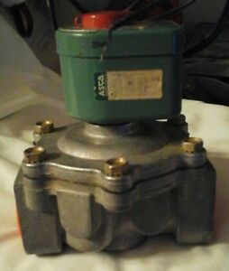 Asco 1 1 4 Electric Gas Valve For Wet Chem Fire System Ansul pyro Chem Kidde Sy