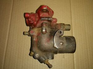 Farmall H Tractor Carburetor 45108 Db W4 Hv Carb