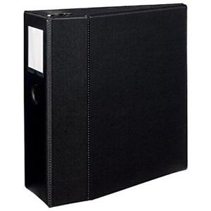 Avery Durable Binder 5 One Touch Rings 1 050 sheet Capacity Label Holder