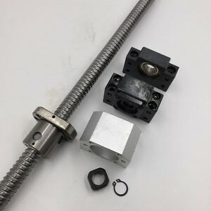 Tbi Ballscrew Sfu2510 25mm Diameter L1500mm Total Length Ball Screw Cnc Kit