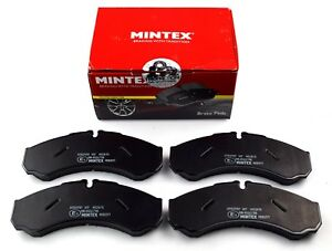 Mintex Front Axle Brake Pads For Iveco Daily Mdb2571 real Image Of Part