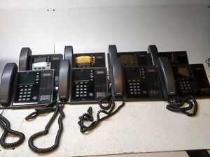 Lot Of 8 Polycom Cx600 Voip Business Office Phone W Handset And Stand Reset