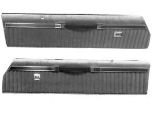 1985 1986 Buick Grand National Complete Upper Door Panels Unassembled