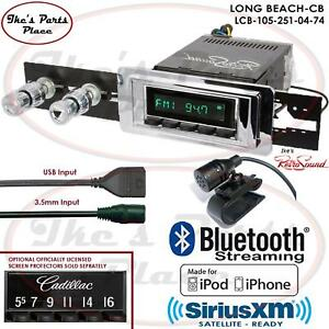 Retrosound Long Beach Cb Radio Bluetooth Ipod Usb 3 5mm Aux In 105 251 Cadillac