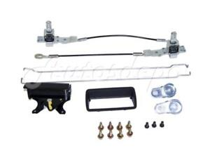 For 1994 2004 Chevy S10 Pickup Gmc Sonoma Pickup Tailgate Handle Hardware Kit
