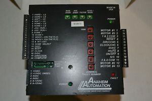 Anaheim Automation Dpd72451 Motion Control Step Motor Drive Pack