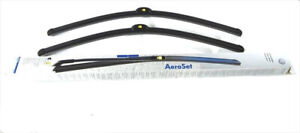 Two New 2011 2018 Vw Volkswagen Touareg Front Windshield Wiper Refill Blades Oem