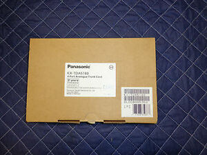 Panasonic Kx tda5180 4 Port Co Trunk Lines New