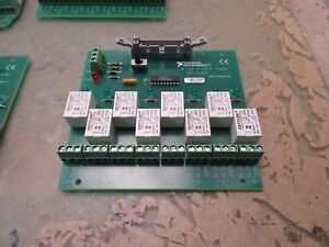 National Instruments Sc 2062 8 channel Relay Board 4 b 89