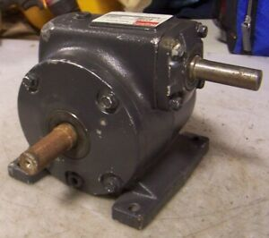 New Dayton 39 1 Ratio Speed Reducer 500 Hp 337 Torque 2z307