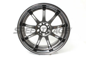 Rota P1r Wheels Hyperblack 18x9 5 38 5x100 For Subaru Wrx 2002 2014 Aggressive