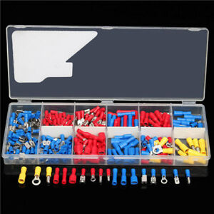 271pcs Insulated Electrical Wire Terminals Crimp Connector
