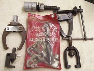Lot Of 8 Misc Gear Puller Parts Made In U S A