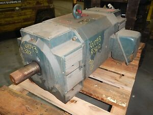 100 Hp Dc Reliance Electric Motor 1750 Rpm Lc3212atz Dp 500 V