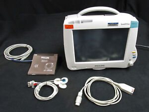 Philips Intellivue Mp50 Patient Monitor With Module M3001a Cable