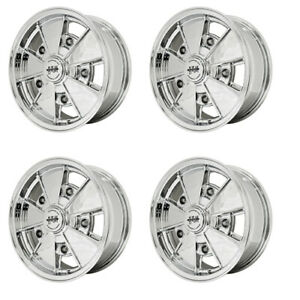 Brm Wheels All Chrome 17x7 Fits 5 On 205mm Vw Dunebuggy Vw