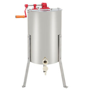 Segawe Large 2 Frame Honey Extractor Beekeeping Equipment Stainless Steel New