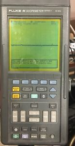Fluke 96 Scopemeter Series 2 With Manual And Scope Voltage Leads