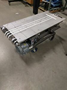 4ft Kirk rudy Adjustable Height And Side to side Vacuum Table Variable Speed