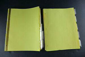 Lot 3 Ring Binder Index Dividers 31 Small Tab Unbranded 109 Big Tab Avery