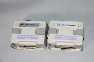 2x Agilent N2647mm 850 1300 Multimode Optical Fiber Modules For Wirescope Pro