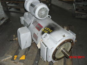 75 Hp Dc General Electric Motor 3500 Rpm 328atcy Frame Dpfv 500 V W Brake