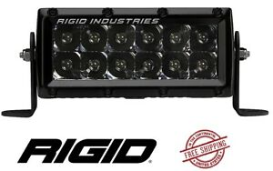 Rigid Industries E series Pro Midnight Edition 6 Led Light Bar Spot
