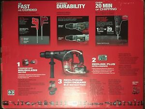 Milwaukee 2717 21hd M18 1 9 16 Fuel Cordless Rotary Hammer Drill Kit New