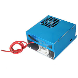 50w Power Supply Mini Co2 Laser Rubber Stamp Engraver Cutter Engraving 110 220v