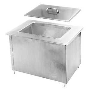 Randell 9510ic Drop in Ice Bin 40 Lb Capacity