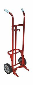Milwaukee Hand Trucks 40776 55 gallon 2 wheel Steel Drum Truck
