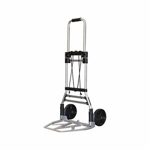 Milwaukee Hand Trucks 33882 Aluminum Fold Up Hand Truck With 7 inch Tires