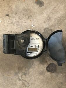 Neptune 1 1 2 Digital Water Meter Head Pit E coder R900i Gallons T 10