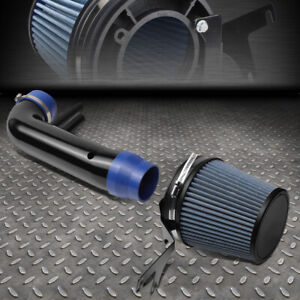 For 1996 2001 Ford Mustang 4 6l V8 Short Ram Cold Air Intake System Blue Filter