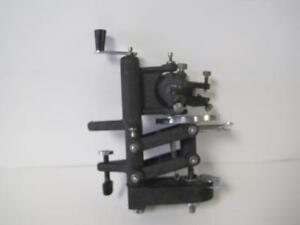 American Optical Spencer Bench Mounted Frozen Microtome 880 Planoconcave