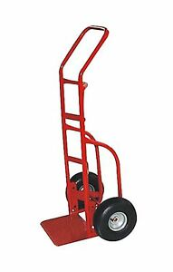 Milwaukee Hand Trucks 33012 Heavy Duty Flow Back Handle Truck With 10 inch Pn