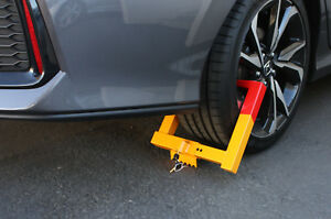 7 12 Anti theft Towing Wheel Lock Clamp Boot Tire Claw Car Truck Rv Trailer