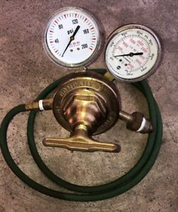 Victor Vts 450 D Gas Regulator Good Condition