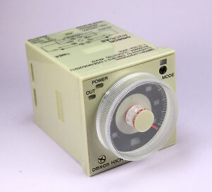 Omron Timer 8 Pin H3cr a8 100 240vac 100 125vdc 1 2 Seconds To 300 Hours