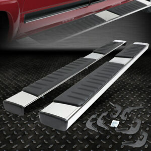 For 2007 2019 Silverado sierra Pickup Ext Cab 6 Chrome Running Board Step Bar