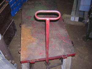 Hit And Miss Stationary Engine Cart