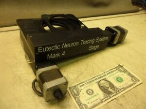Eutectic Neuron Tracking System W 2 Thk Linear Slides 2150t Stepper Motor manual