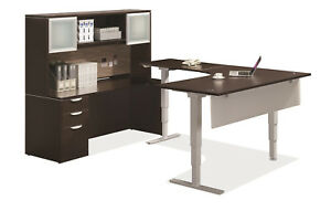 Modern Office Furniture Private working Office Height Adjustable Desk