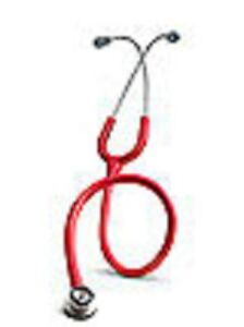 Littmann Classic Ii S e Infant Steel Finish Red L2114r Red