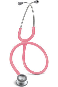 Littmann Classic Ii S e Pediatric Stethoscope Pearl Pink Steel Finish L2115 Pp