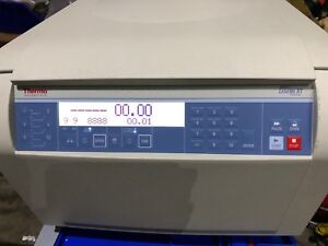 Thermo Fisher Sorvall Legend X1 Centrifuge Fiber Lite F15 6x100y Rotor 230vac